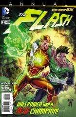Flash (3rd) Annual #2 - 1st meeting New 52 Flash and Green Lantern