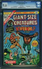 Giant Size Creatures #1 9.6 $469 Feb 2016
