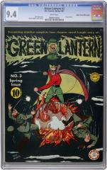Green Lantern #3 (Sold for $50, 785.50 in Aug 2010)