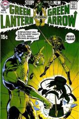 Green Lantern #76 - 1st GL/GA team-up