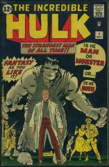 Incredible Hulk #1 - 1st appearance of The Hulk