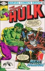 Incredible Hulk #271 - 1st full appearance Rocket Raccoon