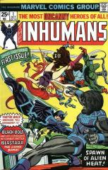 Inhumans (1st) #1 - 1st of first own series
