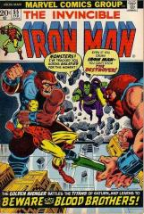 Iron Man #55 - 1st appearance of Thanos