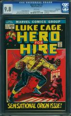 Luke Cage, Hero for Hire #1 9.8 $11,360 Feb 2015