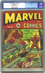 Marvel Mystery Comics #19 (Sold for $3,680 Oct 2002)