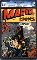 Marvel Mystery Comics #4 (sold for $10,201 Apr 2012)