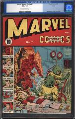 Marvel Mystery Comics #7 (sold for $14,333 Apr 2012)