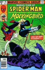 Marvel Team-Up #95 - 1st appearance of Mockingbird