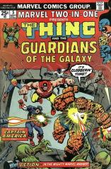 Marvel Two-In-One #5 - 2nd appearance Guardians of the Galaxy