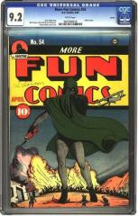 More Fun Comics #54 (sold for $43,125 May 2005)