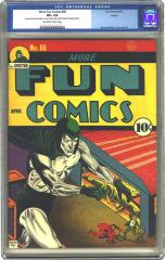 More Fun Comics #66 (Sold for $7,762.50 in Oct 2002)