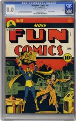 More Fun Comics #68 (Sold for $3,000.35 in May 2005)