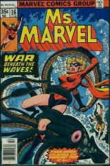 Ms. Marvel (1st) #16 - 1st appearance Mystique