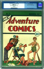 New Adventure Comics #21 (Sold for $6,440 in Oct 2002)