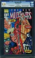 New Mutants #98 9.9 $9,201 Feb 2016