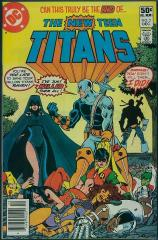 New Teen Titans (1st) #2 - 1st appearance of Deathstroke