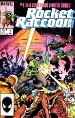Rocket Raccoon mini-series #1 - 1st of own title