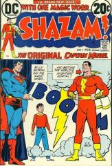 Shazam #1 - 1st modern appearance of Captain Marvel (Shazam)