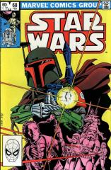 Star Wars #68 - Boba Fett and Bossk appear