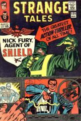 Strange Tales #135 - 1st appearance of Nick Fury