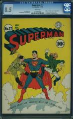 Superman #17 8.5 $15,805 Feb 2016
