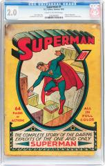 Superman #1 2.0 $83,650 Feb 2016 Heritage