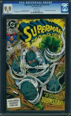 Superman: The Man of Steel #18 9.9 $850 Feb 2016