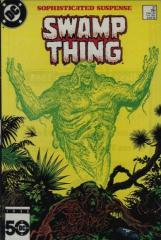 Swamp Thing (2nd) #37 - 1st John Constantine/Hellblazer