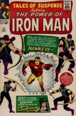 Tales of Suspense #57 - 1st appearance of Hawkeye