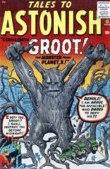 Tales to Astonish #13 - 1st appearance of Groot
