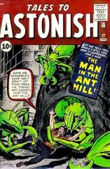 Tales to Astonish #27 - 1st appearance of Ant-Man