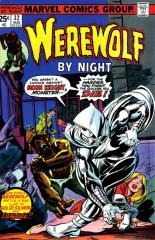 Werewolf By Night #32 - 1st appearance of Moon Knight