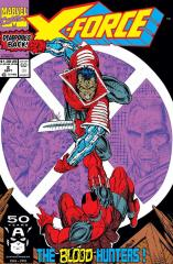 X-Force #2 - 2nd appearance of Deadpool