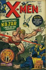 X-Men (1st) #10 - 1st appearance of Ka-Zar