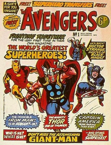 The Comic Book Price Guide For Great Britain Avengers The