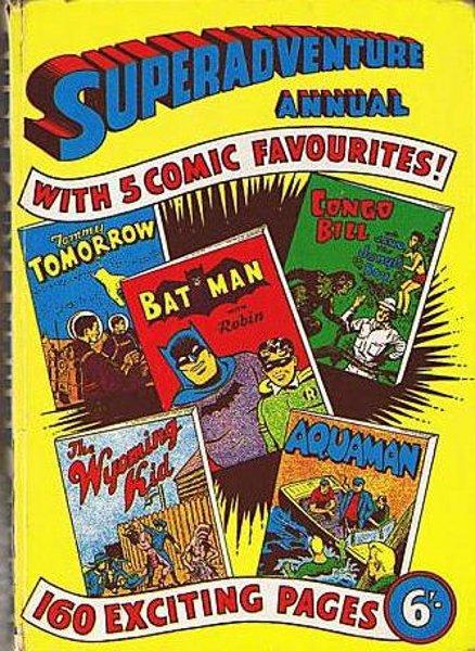 The Comic Book Price Guide For Great Britain - SUPER ADVENTURE ANNUAL