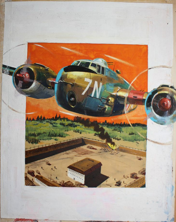 Book Cover Artist Prices : The comic book price guide for great britain air ace