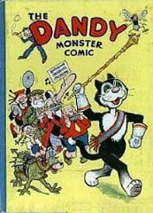 DANDY BOOK, THE: 1941 The Dandy Monster Comic