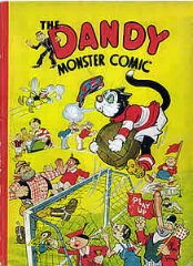 DANDY BOOK, THE: 1944 The Dandy Monster Comic