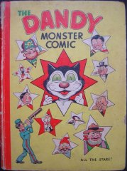DANDY BOOK, THE: 1946 The Dandy Monster Comic