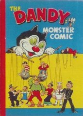 DANDY BOOK, THE: 1948 The Dandy Monster Comic