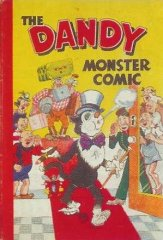DANDY BOOK, THE: 1949 The Dandy Monster Comic