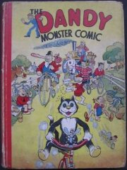 DANDY BOOK, THE: 1943 The Dandy Monster Comic