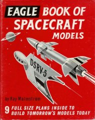EAGLE BOOK OF SPACECRAFT MODELS: 1960