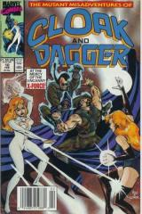 CLOAK AND DAGGER, THE MUTANT MISADVENTURES OF: 10-11