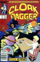 CLOAK AND DAGGER, THE MUTANT MISADVENTURES OF: 2-3