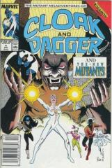 CLOAK AND DAGGER, THE MUTANT MISADVENTURES OF: 4