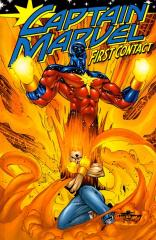 CAPTAIN MARVEL (3RD SERIES): FIRST CONTACT: nn Trade paperback