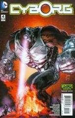 CYBORG (1ST SERIES): 4 Mikel Janin Monsters Variant Cover